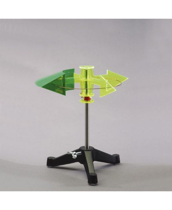 Model s rotirajućim trokutima za demonstraciju Pappus-Guldinova pravila