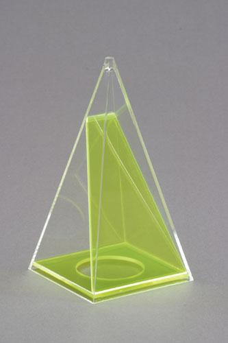 Kvadratna piramida s odvojivim presjekom