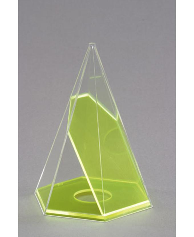 Šesterostrana piramida s odvojivim presjekom