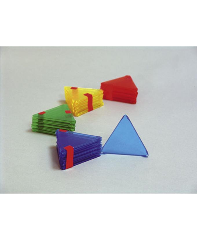 Jednakostranični trokuti, 10 kom., u boji