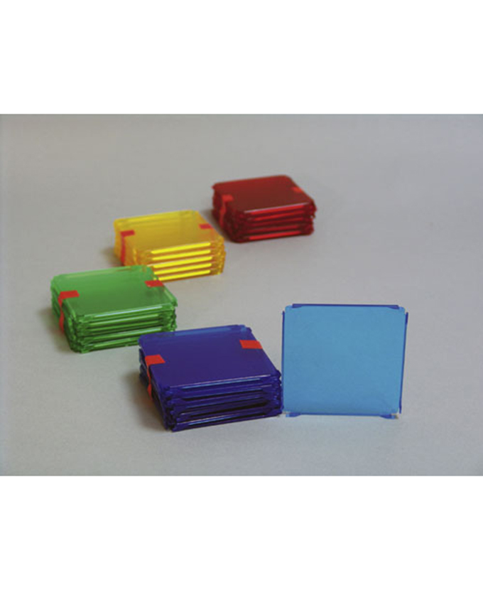 Kvadrat, 10 kom., u boji