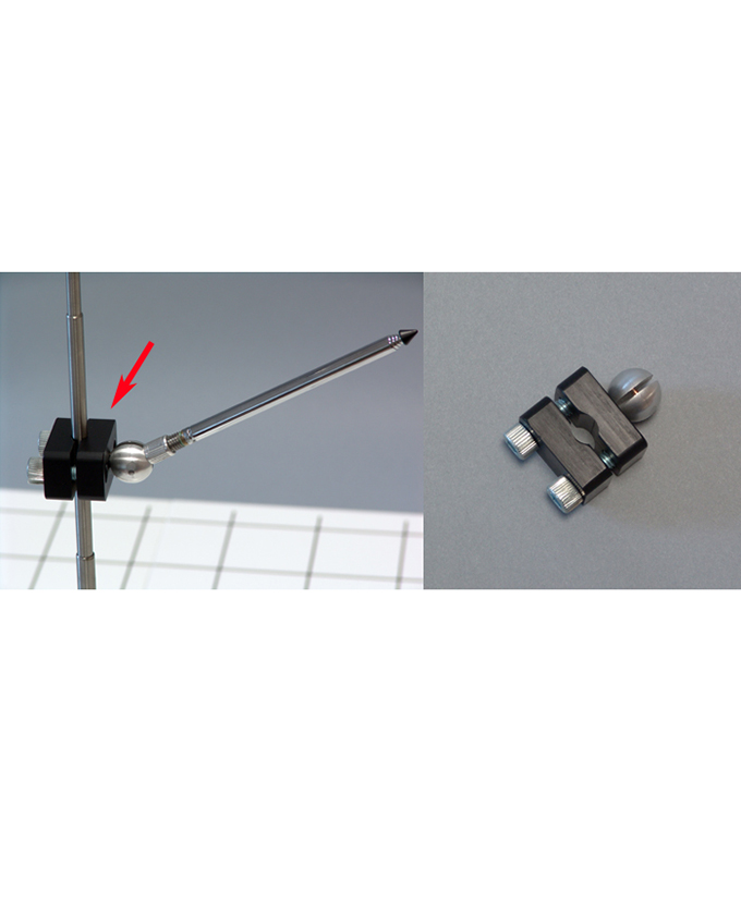 Univerzalni držač za 3D koordinatni sustav i model vektora