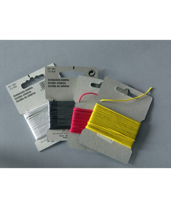 Komplet gumenih niti, 3 m za svaku boju. (u četiri različite boje)